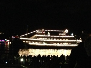 this city is simply magical at this time of year and in my opinion one of the most beautiful things to see are the christmas ships